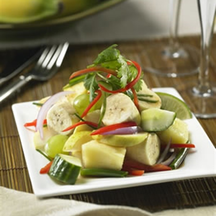 Indonesian Spicy Banana Salad