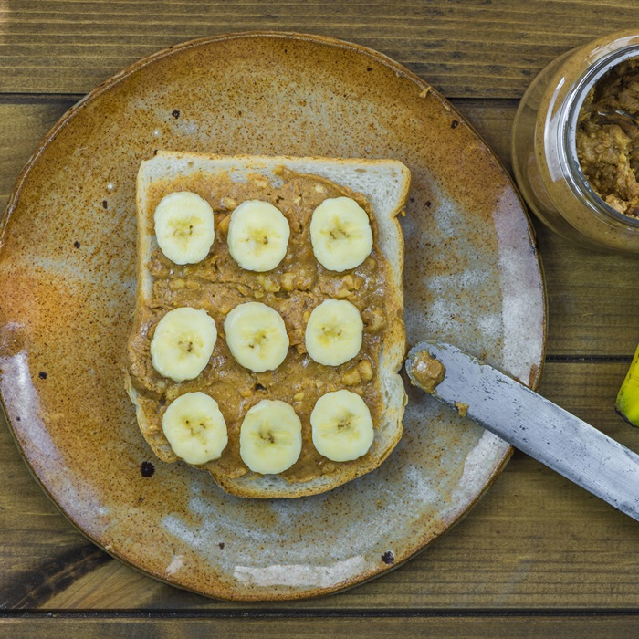 Nutty Breakfast Toast